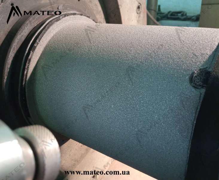 Electric arc metallization - spraying MATEO